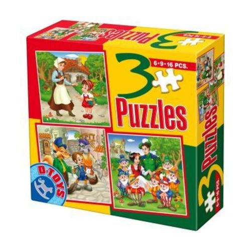 PUZZLE 3 FAIRY TALES 07