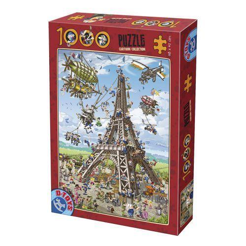 PUZZLE 1000PCS CARTOON COLLECTION 11